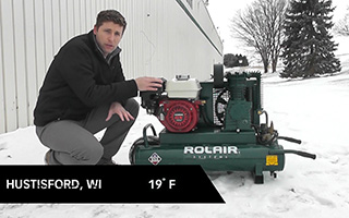 Cold Weather Air Compressor Maintenance