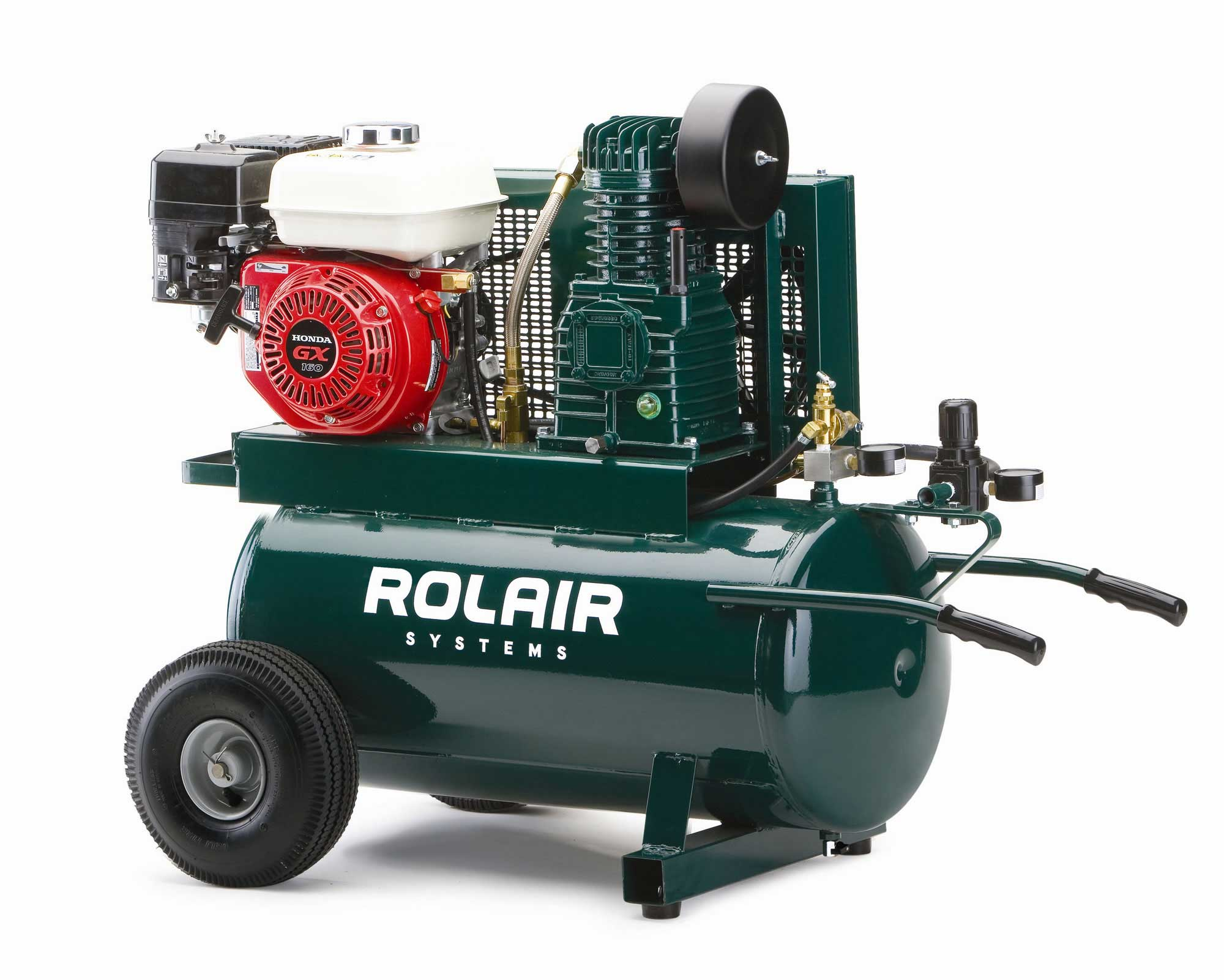 Rolair 5.5 HP 20 Gallon Gas Portable Air Compressor w/Honda Engine 4090HK17/20