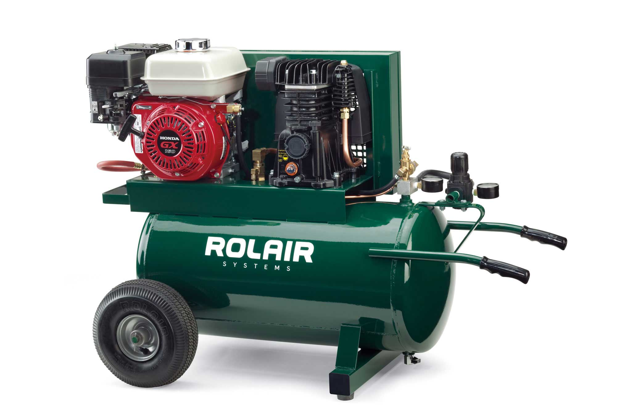 Rolair 5.5 HP 20 Gallon Gas Portable Air Compressor w/Honda Engine 4090HMK103/20