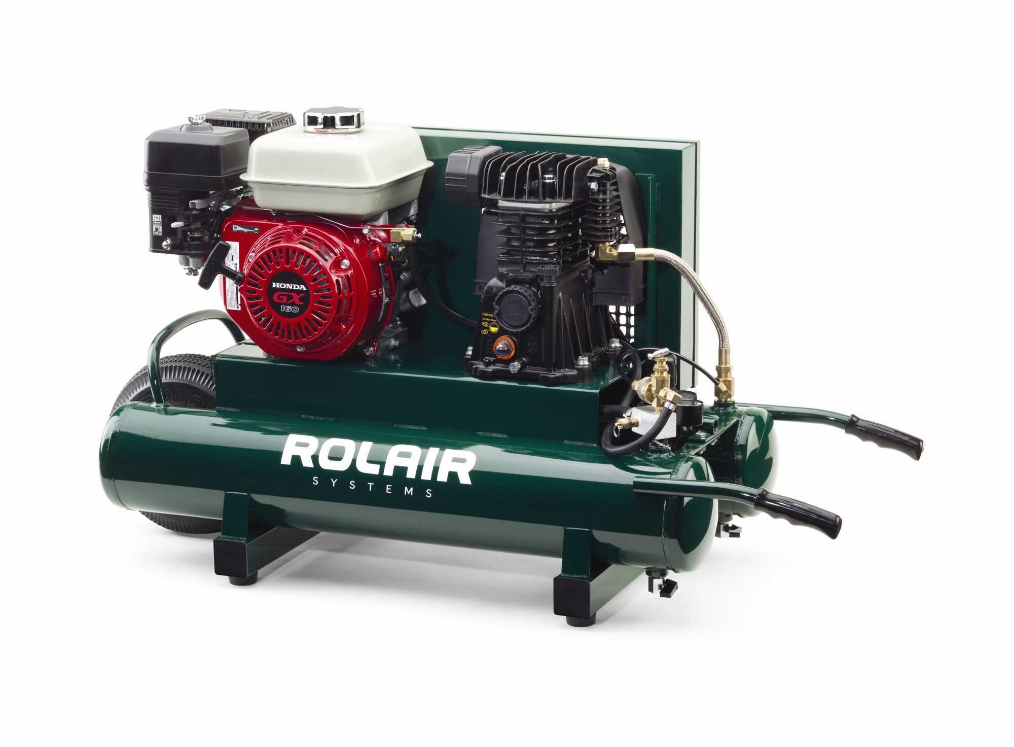 Rolair 5.5 HP 9 Gallon Gas Portable Air Compressor w/Honda Engine  4090HMK103