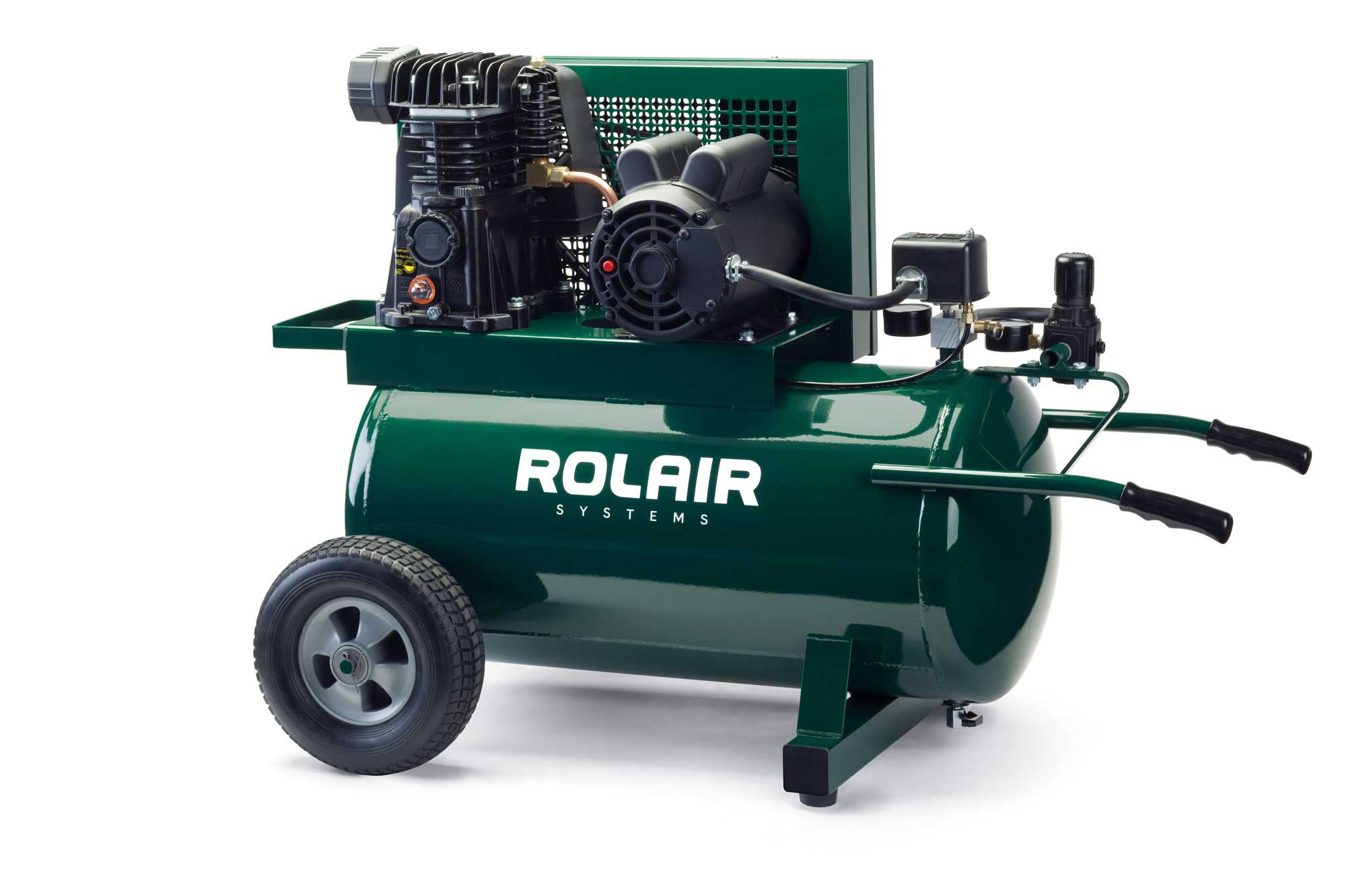 Rolair 1.5 HP 20 Gallon Electric Portable Air Compressor 5520MK103A