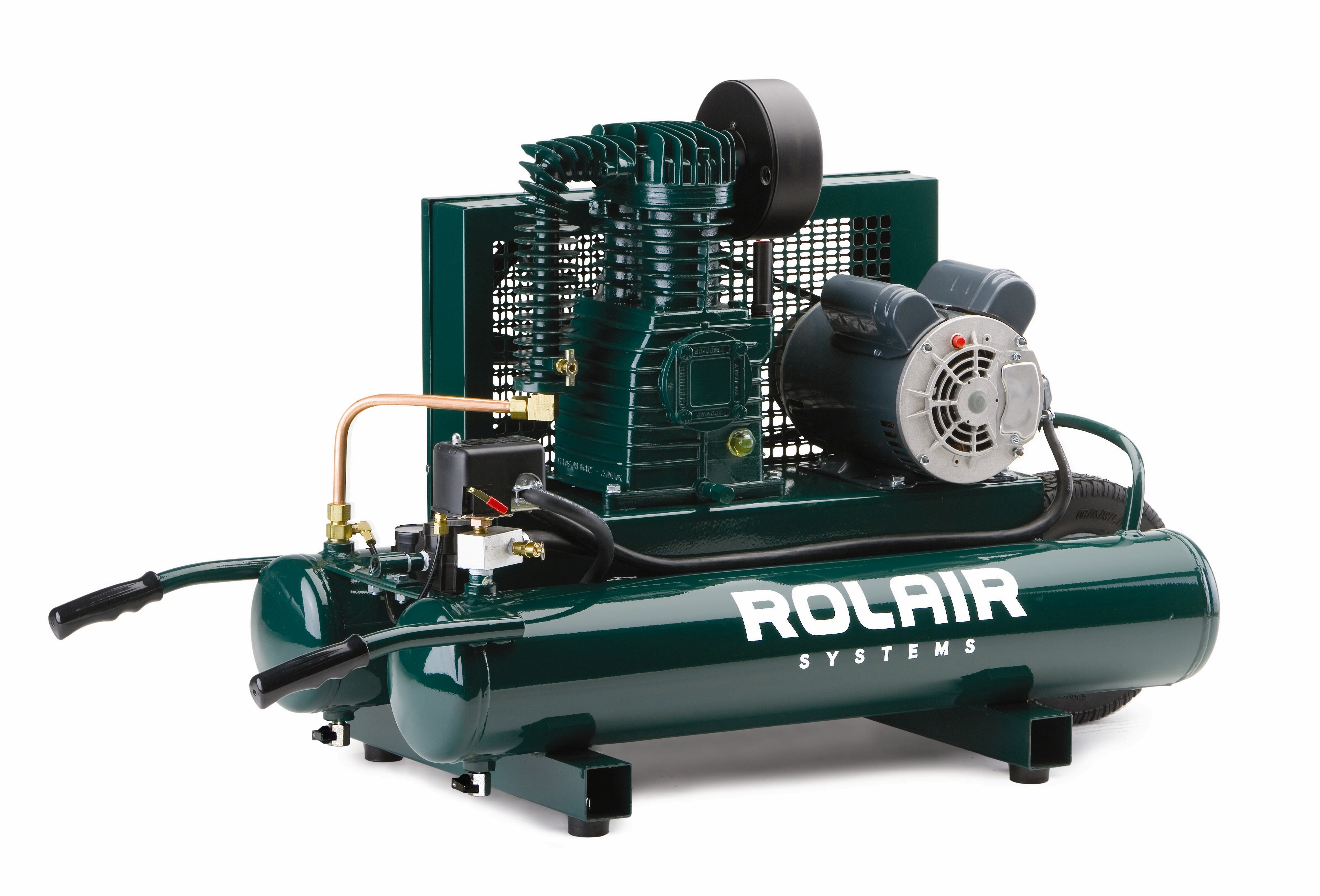 Rolair Systems Air Compressors Compressor Pumps Accessories Wiring Schematic For 2 Wheeled Electric