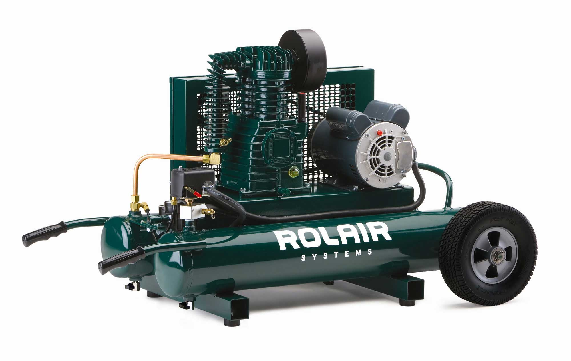 Rolair 1.5 HP 9 Gallon Electric Wheelbarrow Air Compressor 6715K17