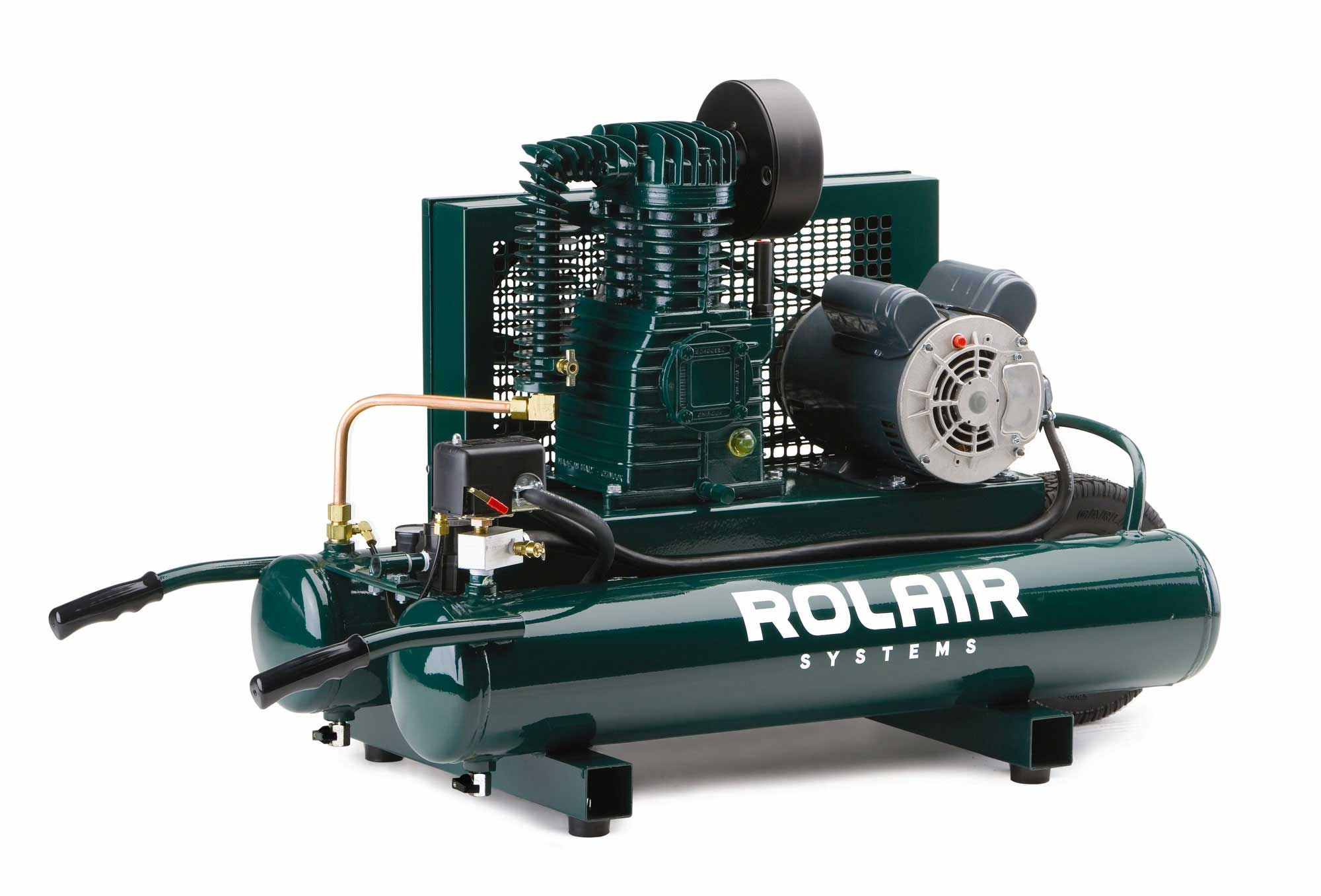 Rolair 2 HP 9 Gallon Electric Air Compressor 6820K17D